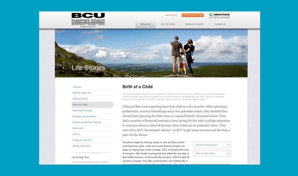 BCU Life Stories