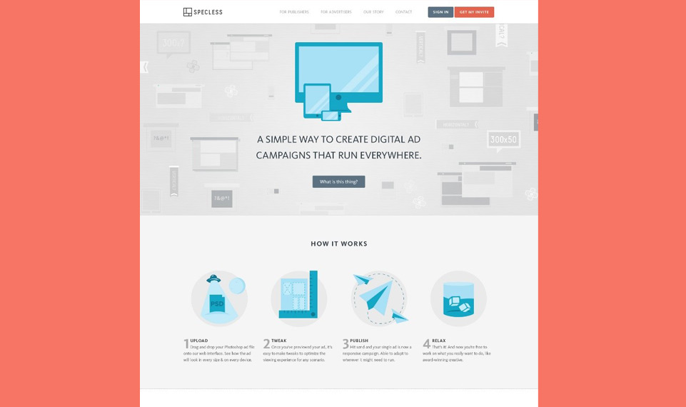Specless Website