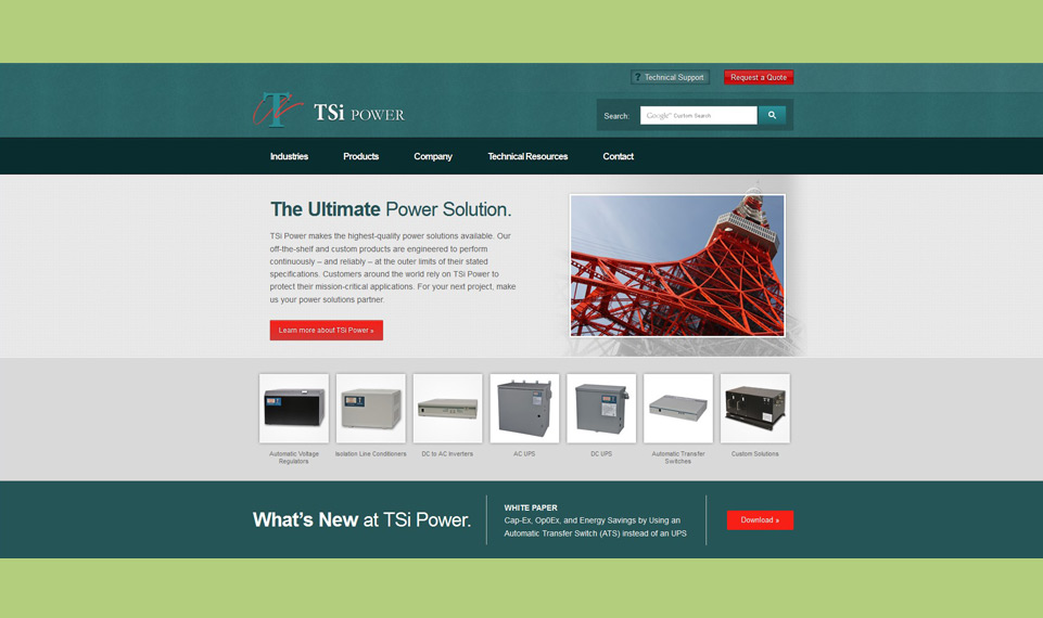 TSi Power Home Page